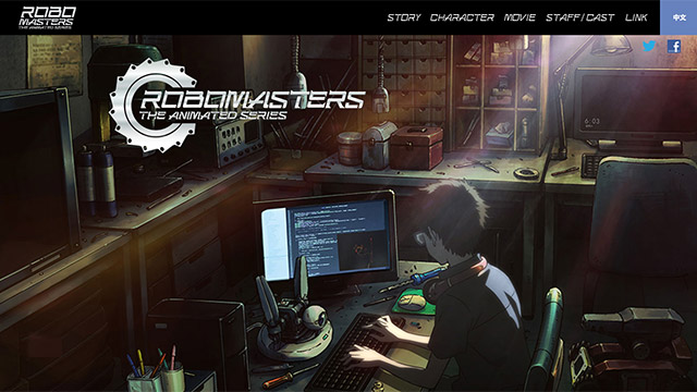 ROBOMATERS THE ANIMATED SERIES