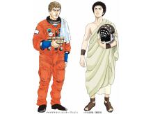 「テルマエ・ロマエ」と「宇宙兄弟」のコラボが決定! ルシウスは宇宙へ、ムッタは古代ローマへ?