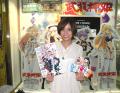 azusaが神姫と握手? TVアニメ「武装神姫」、放送開始日に秋葉原で店頭イベントを実施
