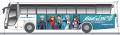 小田急、ヱヴァ仕様の「第3新東京市」行き高速バスを運行! 車内放送は伊吹マヤ