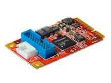 Mini PCI Express接続のUSB 3.0増設カード! 玄人志向「USB3.0-mPCIe」発売