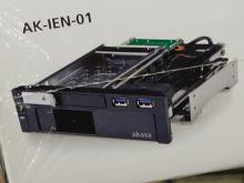 USB3.0×2基搭載の5インチベイ用リムーバブルHDDケース! akasa「Lokstor M51」発売