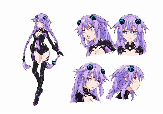 2013夏アニメ「超次元ゲイム ネプテューヌ」、守護女神4人のキャラ設定とキャストを公開!