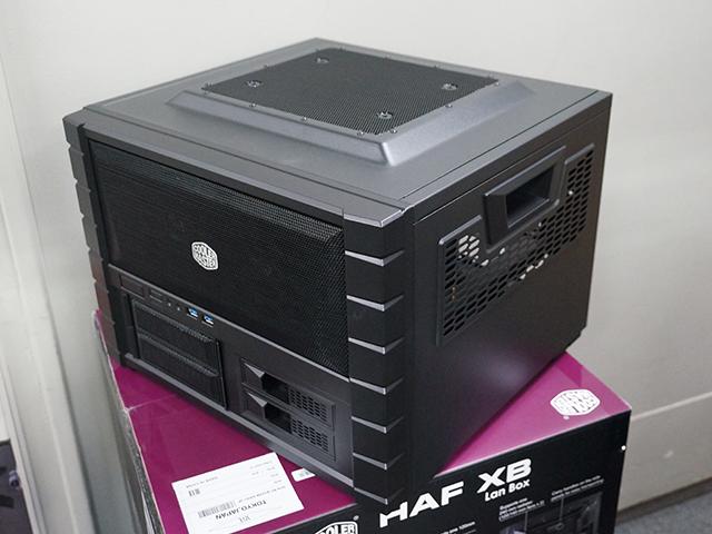 メンテナンス性も重視の大型キューブケース! COOLERMASTER「HAF XB」発売