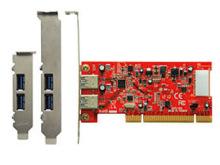 PCI接続のUSB3.0増設カードが発売! 玄人志向製