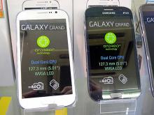 デュアルSIM対応のSAMSUNG製5インチスマホ「GALAXY Grand Duos」が登場!