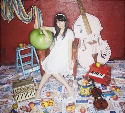 竹達彩奈、1stアルバム「apple s...