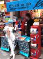 「ヱヴァQ」BD/DVD発売で露出が激しいコスプレイヤーさんが秋葉原・中央通りに登場