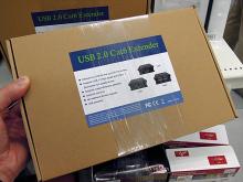 USB2.0機器を最大50m延長できるハブエクステンダー「USB2.0ハブエクステンダー」が上海問屋から!
