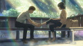 アニメ映画「言の葉の庭」、監督・新海誠がすべての劇場(全23館)で舞台挨拶を実施! サイン会も