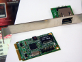 インテルLANコントローラー搭載の小型NICがJETWAYから! Mini PCI Express接続/デュアルギガビット対応