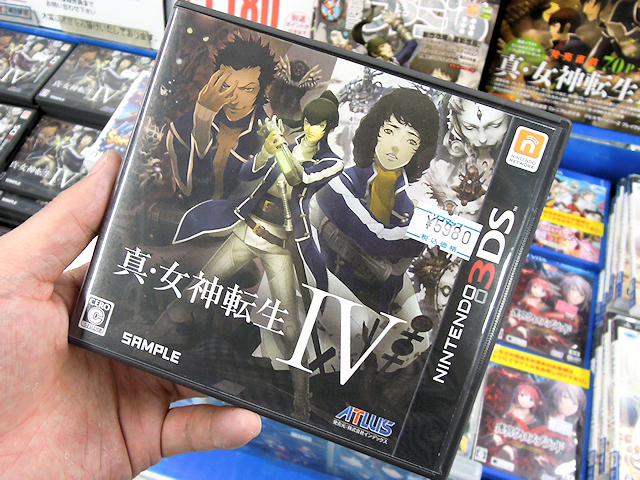 3DS「真・女神転生IV」