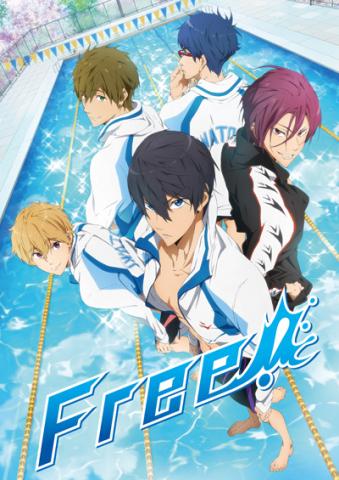 京アニ新作TVアニメ「Free!」、第1話先行上映イベント開催決定!  PV第2弾も公開