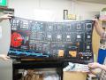 自作PC向けの大型静電防止マットがModRightから! 各種パーツの原寸大イラストをプリント