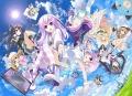 TVアニメ「超次元ゲイム ネプテューヌ」、秋葉原の「ゴーゴーカレー」とコラボ! 各店555名に描き下ろしクリアファイルを配布
