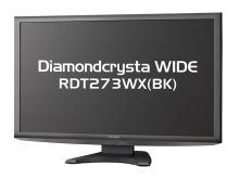 三菱電機製27インチ液晶モニタ「RDT273WX(BK)」が発売! 応答速度3.2msのIPSパネルを採用