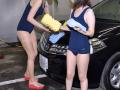 スクール水着女子による洗車サービス「スク水洗車」、車や免許が不要の体験プランを開始! 秋葉原駅からの無料送迎付き
