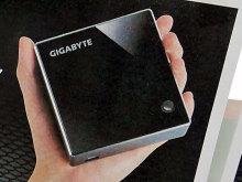 GIGABYTEの超小型省電力ベアボーンPC「BRIX」の予約がスタート! Core i7搭載モデルもラインアップ