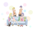 TVアニメ「Super Seisyun Brothers 超青春姉弟s」、9月13日スタート! 2組の姉弟を描いた日常コメディ