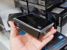 GIGABYTEの超小型ベアボーン「BRIX」がついに販売開始! 無線LAN標準搭載、Core i7採用モデルも