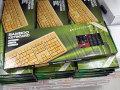 3色から選べる竹製カラーキーボード「バンブーキーボード」が登場!