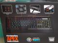 22個のマクロキーやイルミネーション機能付きゲーミングキーボード! SteelSeries「APEX」発売