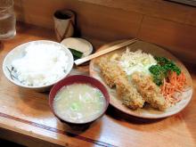 2013年秋到来! 「とんかつ冨貴」のカキフライ定食がスタート