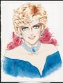 「ベルサイユのばら」作者・池田理代子によるダイアナ妃のイラスト入りポスターが公開に!