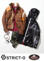 ガンダムアパレル「STRICT-G」、バイク用品「KUSHITANI」とコラボ! シャア着用イメージのレザージャケットなどを発売