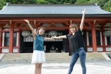 オリジナルアニメ「京騒戯画」、第5.5話として聖地巡礼番組を放送!  声優陣が舞台を巡る「京都実録篇」