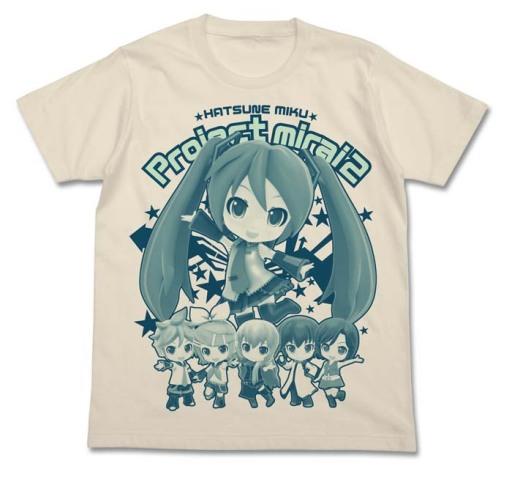 キッズサイズもあるデフォルメ初音ミクTシャツがコスパから! 3DS「初音ミク Project mirai 2」発売記念モデル