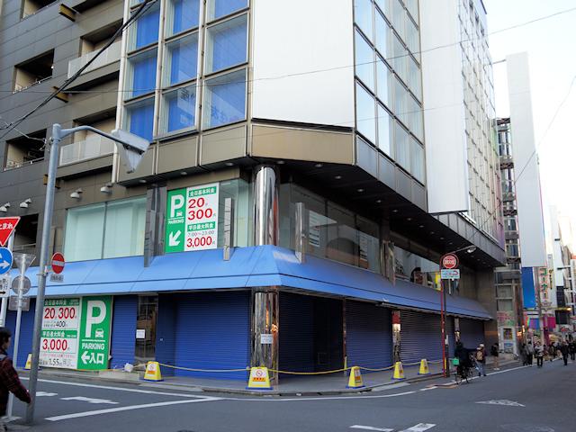 エディオン秋葉原本店(旧イシマル本店)跡地、駐車場が11月26日に再始動