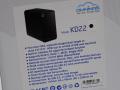 無線LANアクセスポイント搭載のShuttle製2ベイNAS「KD22」が発売! 転送速度も向上