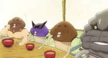 OVA「なめこ家の一族」、DVD第1巻発売記念で第1話を先行公開! 「なめこ家、今夜はスキヤキ」