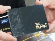 WesternDigital、SSDとHDDを両搭載したデュアルドライブ「WD Black2」発売! 128GB SSDと1TB HDDを内蔵
