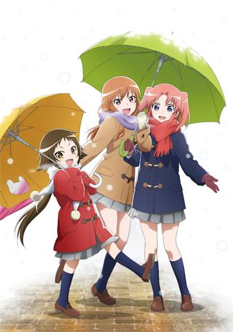 TVアニメ「未確認で進行形」、新ビジュアルとMVを公開! 巨乳安産型JKと幼女小姑と変態姉の同居生活を描くドタバタ日常ラブコメ