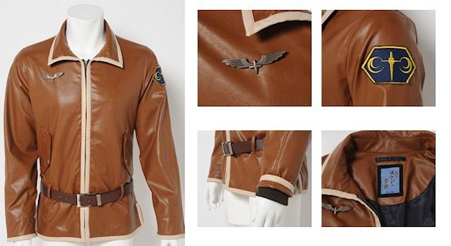 2014冬アニメ「とある飛空士への恋歌」、主人公が着用しているフライトジャケットが早くも商品化!