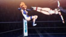 女子プロレスアニメ「世界でいちばん強くなりたい!」、第12話(最終話)の場面写真を公開! さくらVSエレナの戦いが決着