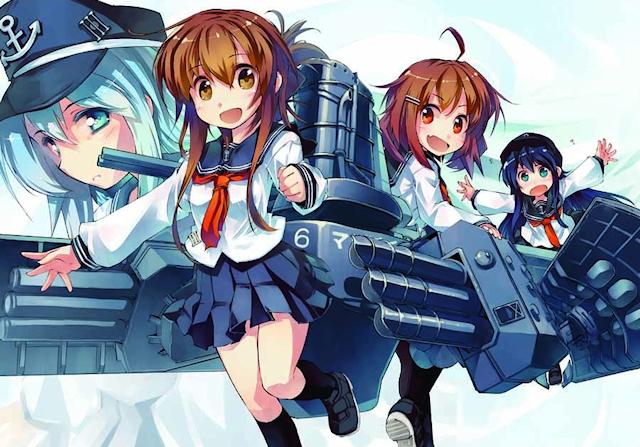 艦これ、マンガ「艦これなのです! 艦隊これくしょん」連載開始! 電が主人公の学園モノ