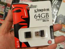マイクロレシーバーサイズの大容量USBメモリーがKingstonから発売に!