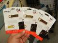 おしゃれな金色USB3.0メモリーがPNYから! 64GB/32GB/16GBモデル