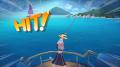 アニメ「凪のあすから」、3D釣りゲーム「LINE フィッシュアイランド」とコラボ! キャラ仕様の竿/浮きや海村の水槽が登場
