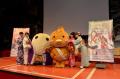 「いなり、こんこん、恋いろは。」、京都での新年会イベントには声優陣が着物姿で登場! 伏見稲荷大社もキャラパネル設置を開始