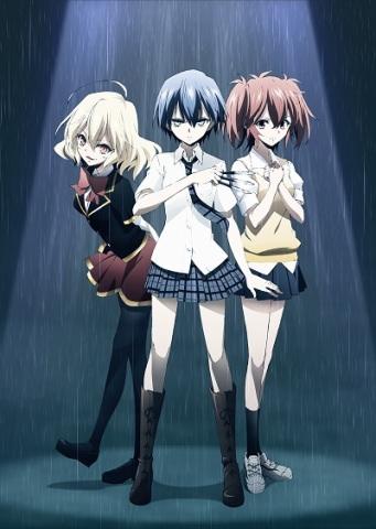 JK暗殺者だらけの学園アニメ「悪魔のリドル」、キャラ設定画を解禁! OPテーマは内田真礼のソロデビュー曲に