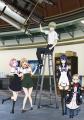 TVアニメ「極黒のブリュンヒルデ」、キービジュアル第2弾はメインキャラ5人の集合イラスト! 放送情報も明らかに