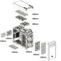 大型ラジエーター/大口径ファンが搭載できる高冷却仕様のフルタワーケース! Thermaltake「Core V71」発売