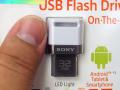 ソニーのスマホ向け小型USBメモリーにホワイトモデルが登場! 海外パッケージ版