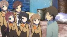 オリジナルアニメ「凪のあすから」、第24話の場面写真/あらすじを公開! ちさきに想いを伝える紡、晃からの手紙を受け取るまなか