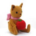 TVアニメ「のうりん」、田茂農林高校のマスコット「若旦那」がぬいぐるみ化! 手にはリンゴ
