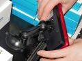 吸盤でスマホを固定する車載用充電スタンド「車載用Qi充電スタンドホルダー」が登場!